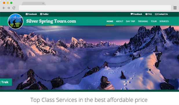Silver Spring Tours - sanil.com.np