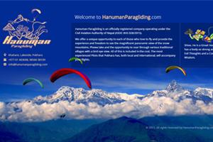Hanuman Paragliding